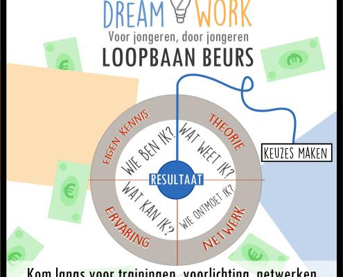 loopbaanbeurs mbo scholieren op dream2work ism samenmetdebuurt