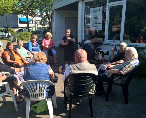 buiten genieten haarlem ouderen haarlem schalkwijk buurthuis samenmetdebuurt