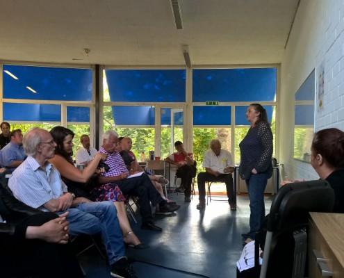 Nacima Khelfi - burgerinitiatief De Schalk - kringloopwinkel Haarlem Schalkwijk