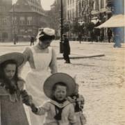 oud haarlem grote markt 1920